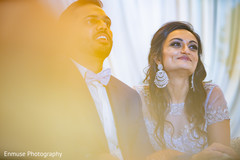 Enchanting indian couple's capture.