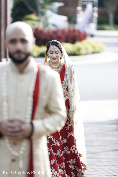 Indian bride and groom treasured moments