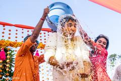 Raja during the Indian wedding rituals