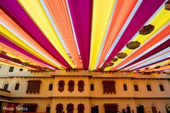 Amazing shot of the Indian wedding decor