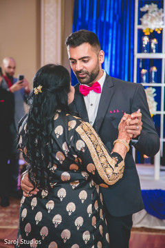Romantic Indian wedding first dance.