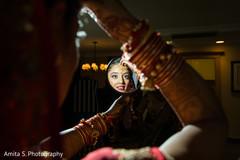 Great capture of maharani through the mirror