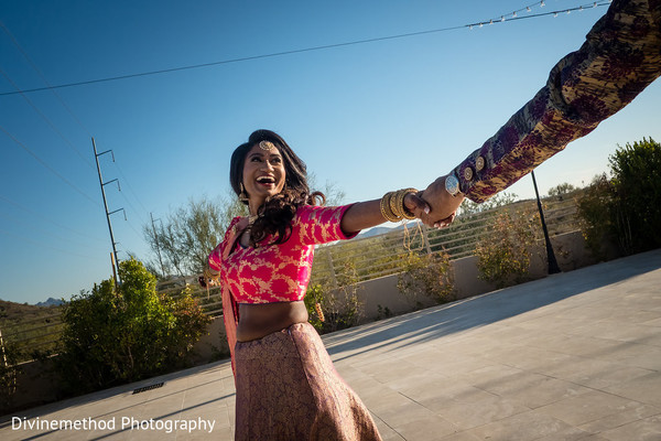 Gorgeous Indian bride and groom tender moments.