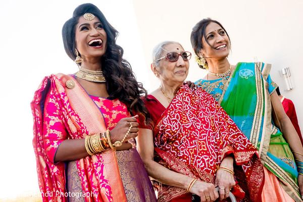 Joyful maharani greets her special guests