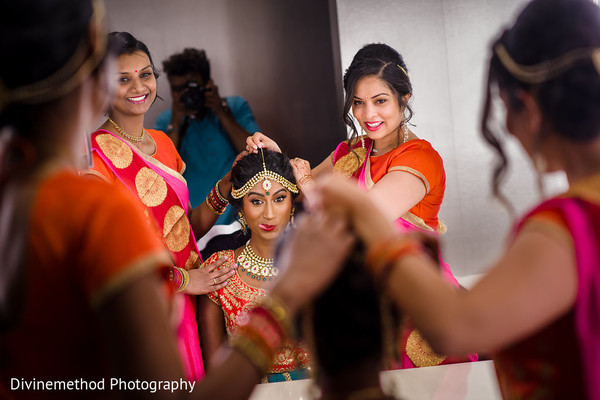 Don't miss this Indian beauty getting ready for her wedding day.