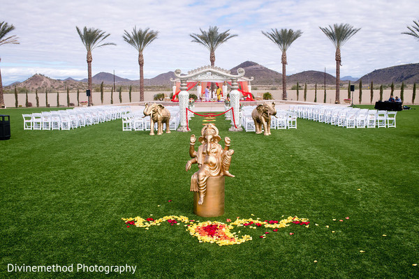indian wedding,ganesha,reception,details
