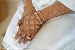 Incredible Indian bridal mehndi.