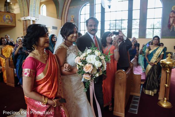 Marvelous maharani's entrance to ceremony.