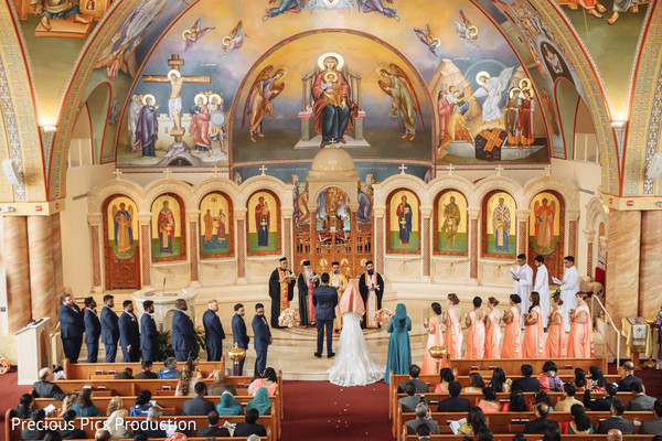 Astounding Indian Christian wedding ceremony.