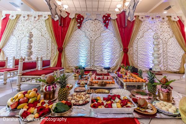 indian wedding,decor,venue,color