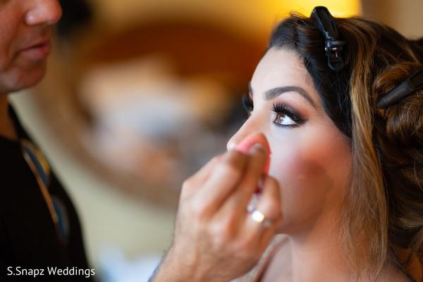 Detail of maharani's makeup