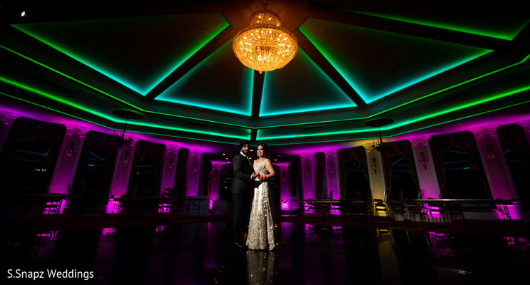 Incredible lightning details for the Indian wedding
