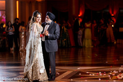 Lovely moment between the Indian bride and guest