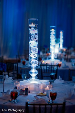 Amazing tall floral table centerpiece.