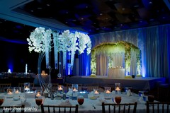 Phenomenal indian wedding table and stage decor.
