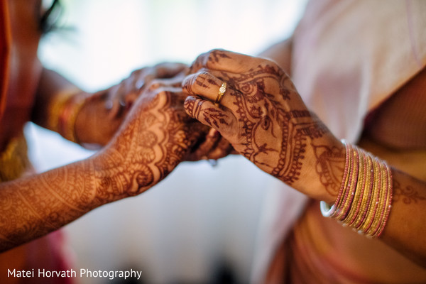 Marvelous Indian bridal engagement ring capture.