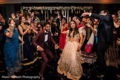 Sensational indian couple reception celebration.