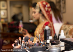 Nice capture of the bridal makeup tools