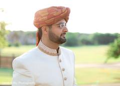 Indian groom outdoors capture