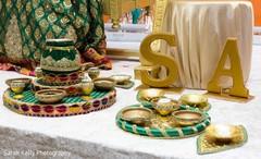 Indian wedding ornaments details