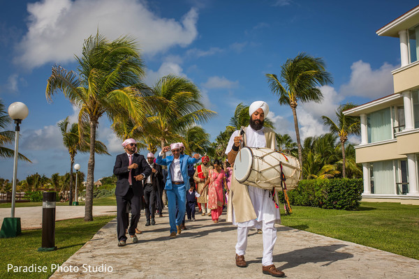 Dhol player capture.