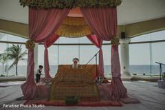 Magnificent Indian wedding ceremony photo.