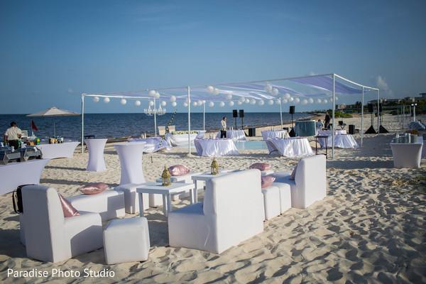 indian wedding reception,seats,table decor,lights