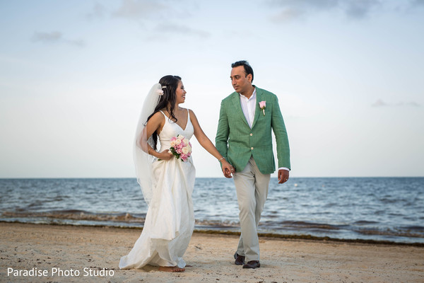 indian bride and groom,indian wedding fashion,photo shoot