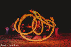 Impressive Indian wedding fire dancer capture.