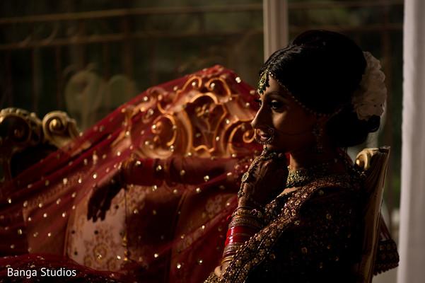 portrait,indian wedding,getting ready,maharani