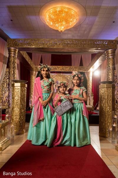 indian wedding,lengha,kid,venue