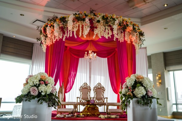 indian wedding,decor,venue,mandap