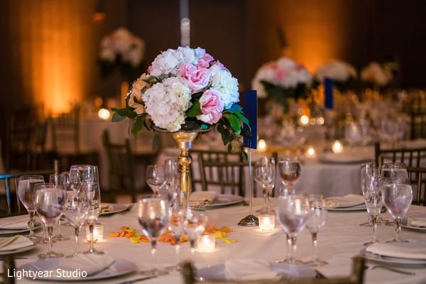 floral,arrangement,center piece,indian wedding