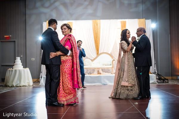 indian wedding,newlyweds,dance,venue