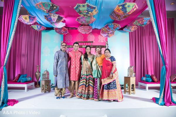 Gorgeous sangeet ceiling decor