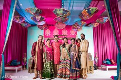 Sangeet family portrait