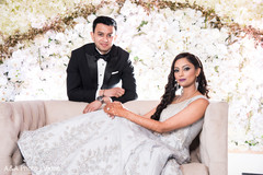 Dreamy indian bride and groom photography