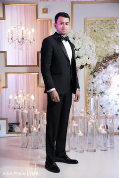 Glamorous indian groom
