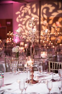 Unique indian wedding table decor