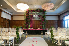 Overview of the Indian weddind venue decor