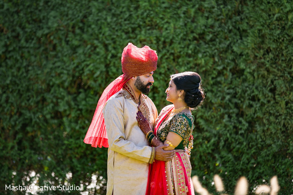 indian groom fashion,indian bride fashion,first look