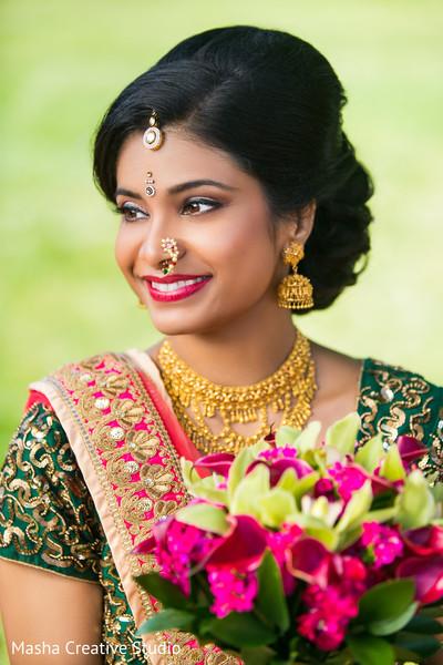 bridal lengha,indian bride jewelry