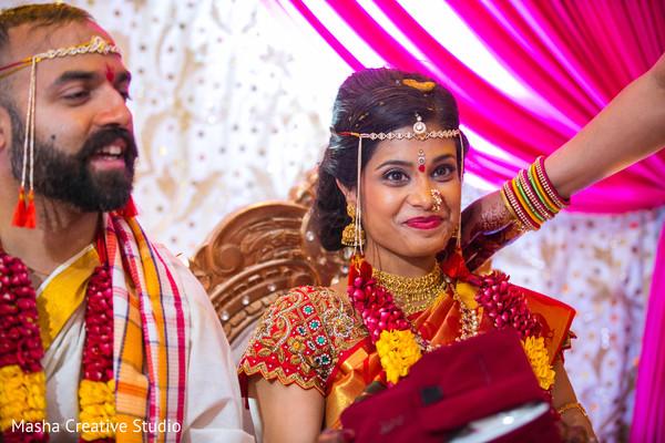 See this joyful indian couple