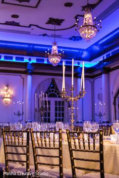 Splendid indian wedding table decor