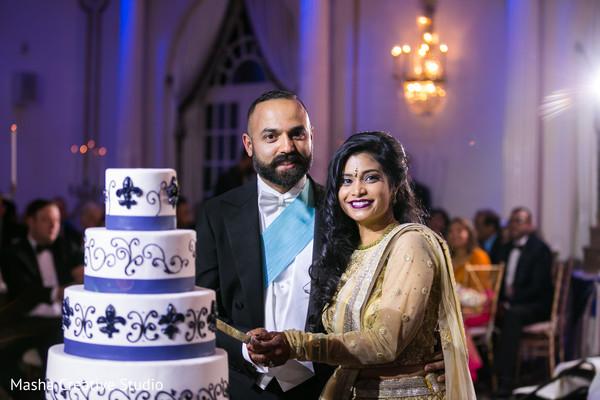 Incredible indian wedding cake design