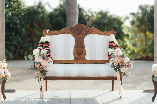 mandap,flowers decor,seats setup