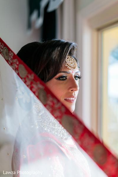 indian bride,bridal fashion,bridal hair and makeup,tikka