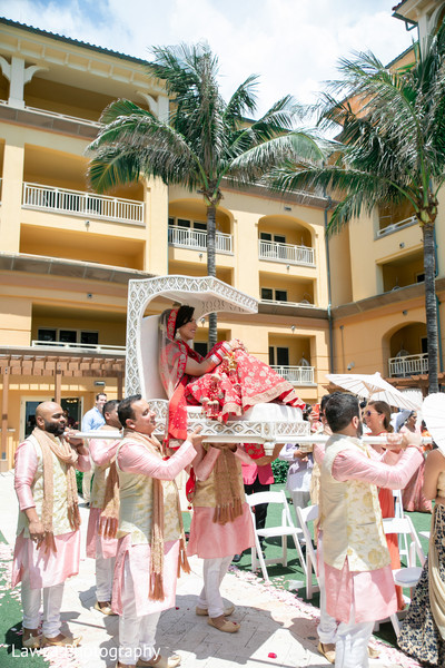 doli entrance,indian bride,indian wedding ceremony