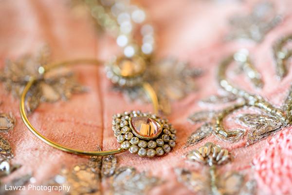 Stunning Indian bridal nose ring.