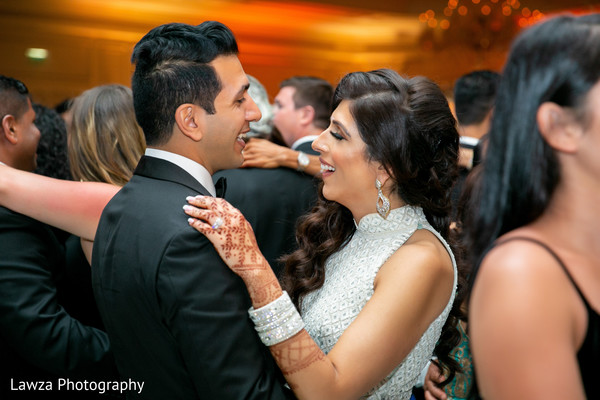 indian bride,indian groom,indian wedding reception,dance